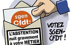 Votez Sgen-CFDT !