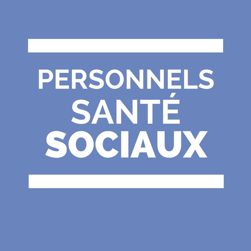 Personnels de santé et sociaux