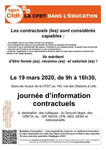 Formation contractuels