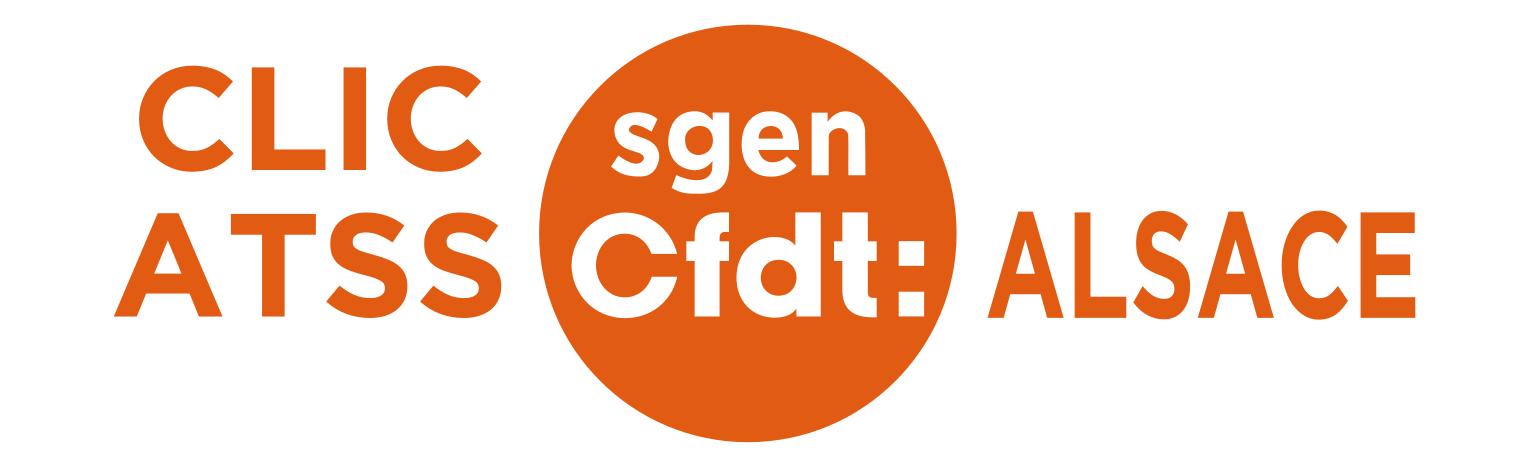 Logo Clic ATSS Sgen-CFDT Alsace
