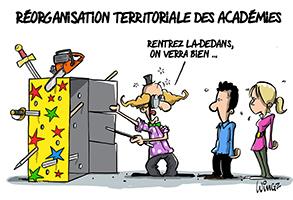 fusions d'académies