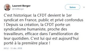 1er syndicat de France