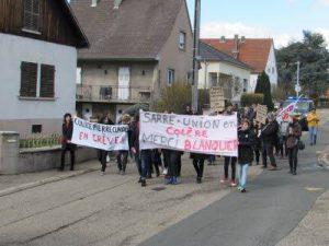 grève sarre-union