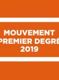 mouvement des PE 2019