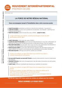 mouvement interdépartemental PE