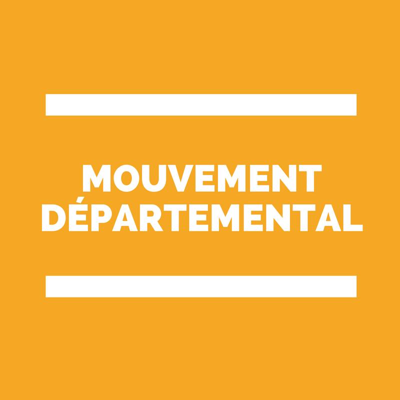 mouvement départemental des enseignants du premier degré
