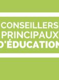CPE - Conseillers principaux d'éducation