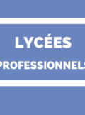 lycées professionnels - enseignement professionnel