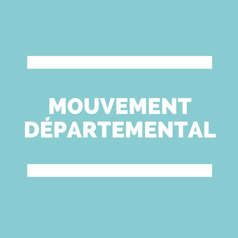 Mouvement départemental des professeurs des écoles