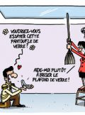 PLAFOND DE VERRE