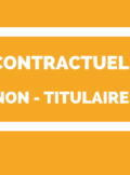 contractuels - non titulaires