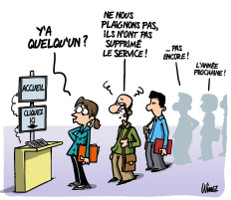 SUPPRESSION DES SERVICES