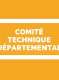 CTSD Comité Technique Spécial Départemental 78