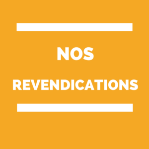 REVENDICATIONS prime exceptionnelle COVID-19