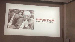 edmond maire militant
