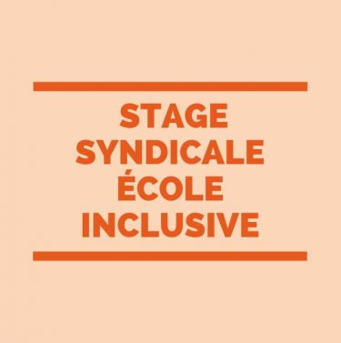 lettre congé stage syndical