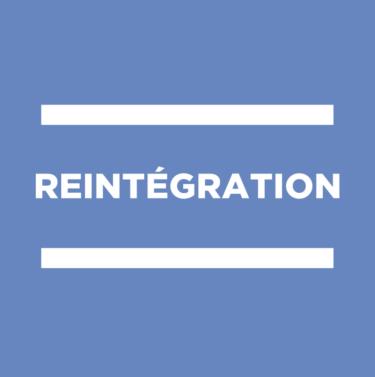 Logo réintégration