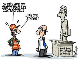 Un statut pour les contractuels