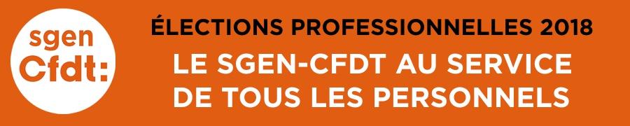Le Sgen-CFDT au service de tous les personnels