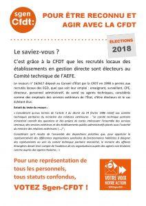 Tract vote des RL des EGD au CT de l'AEFE