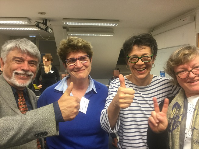 Alain, Anne-Marie, Pascale et Françoise
