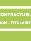contractuels administratifs