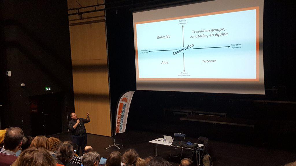Sylvain Connac présente la coopération