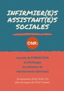 Formation Infirmières et Assistantes Sociales