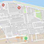 Plan de la place de la Gare de l'Etat NANTES