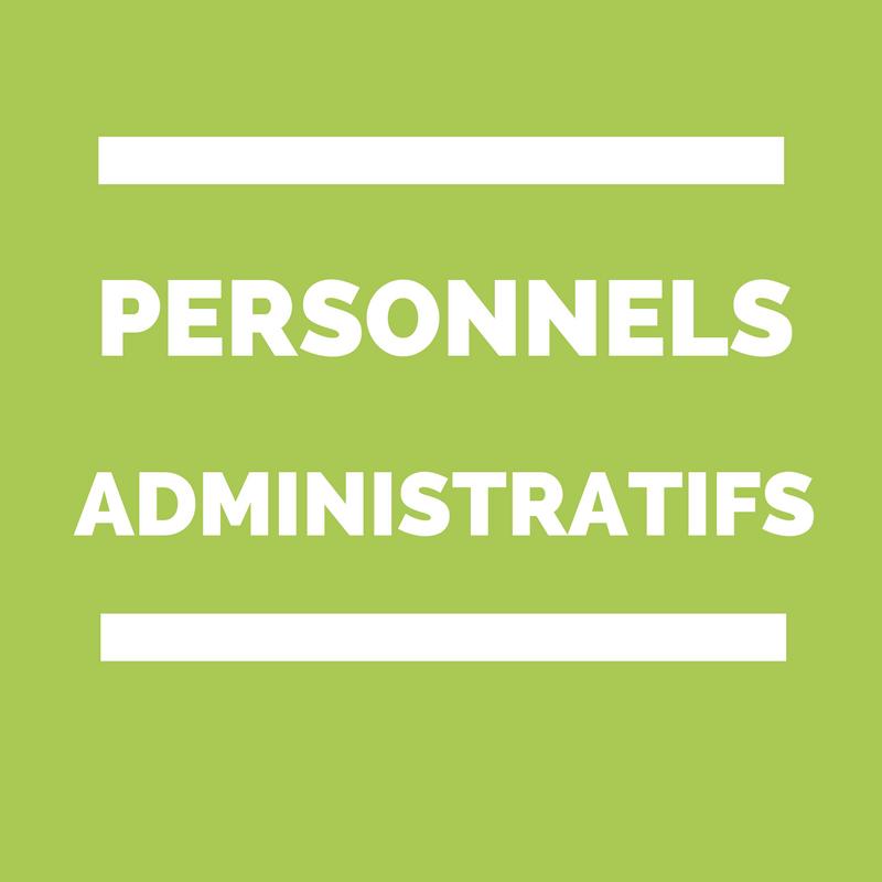 personnels administratifs