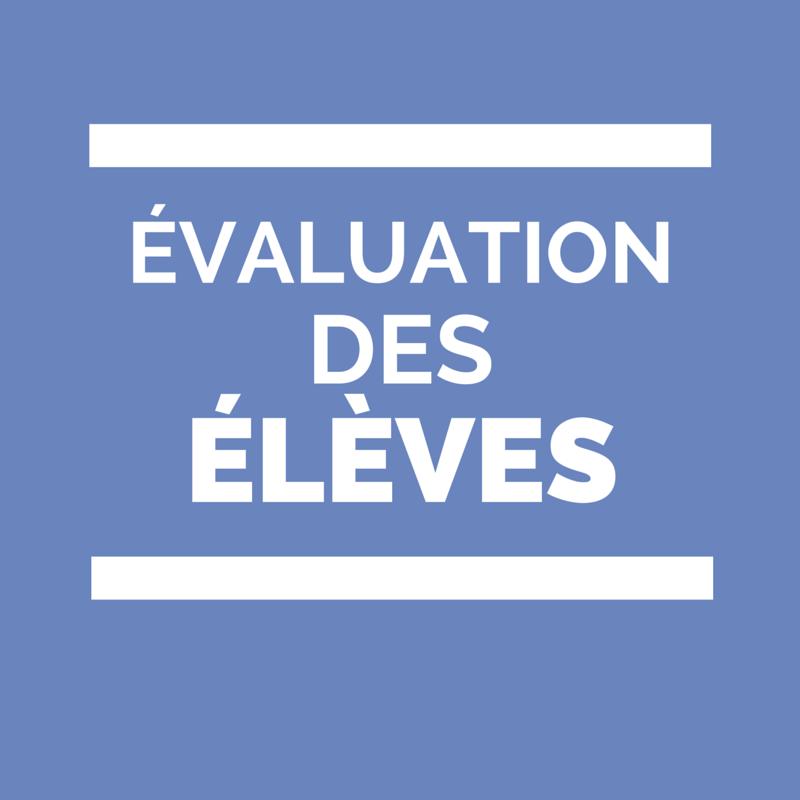 évaluation des élèves