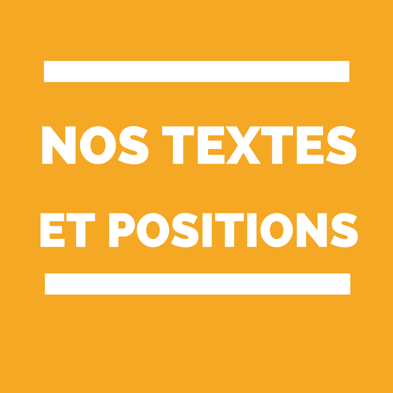 textes, positions