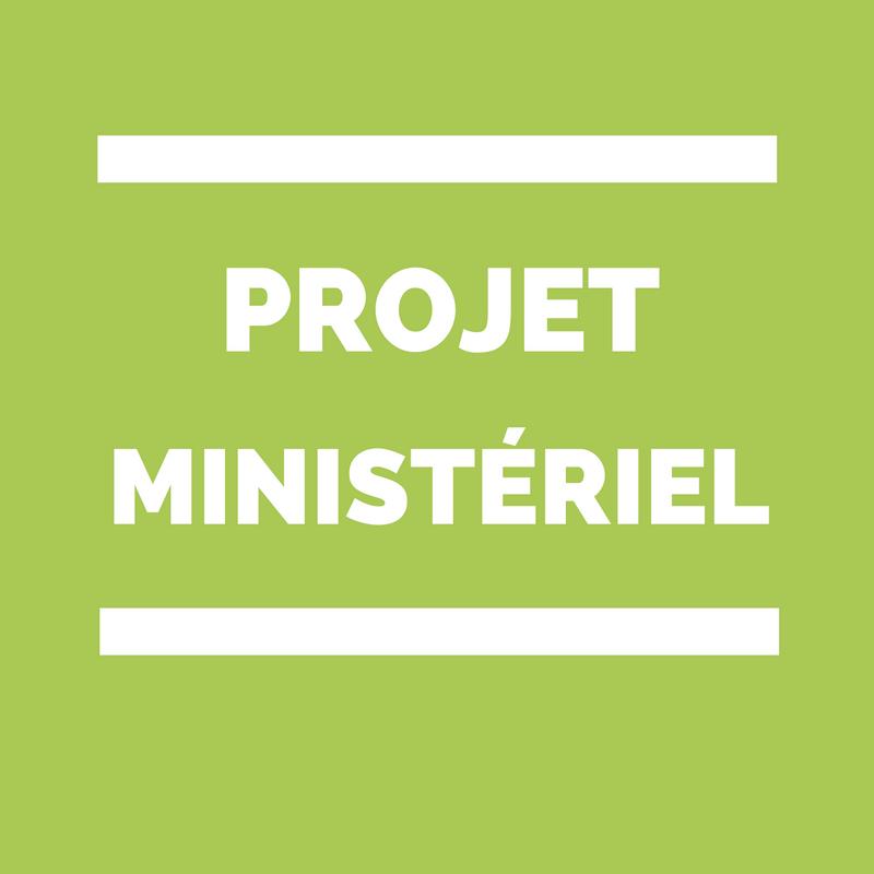 projet ministériel