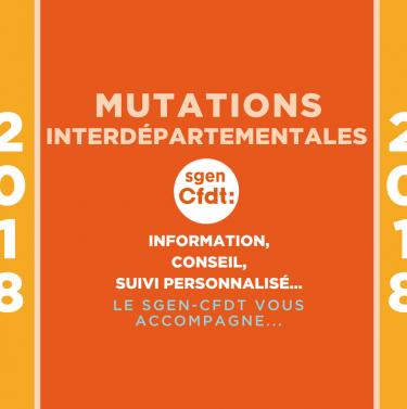 mutations interdépartementales