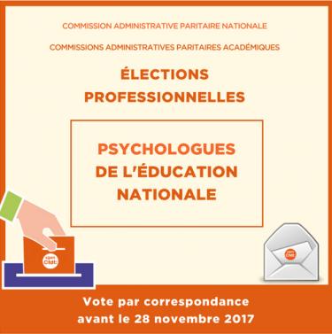 Elections PsyEN