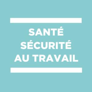 santé sécurité au travail RSST