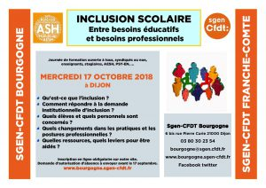 formation inclusion scolaire