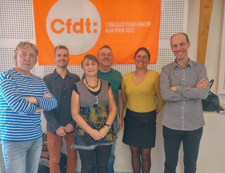 la délégation éducation BFC de la CFDT