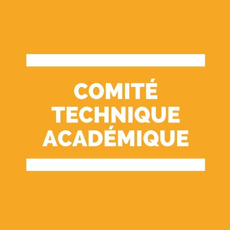 Comité Technique académique CTA