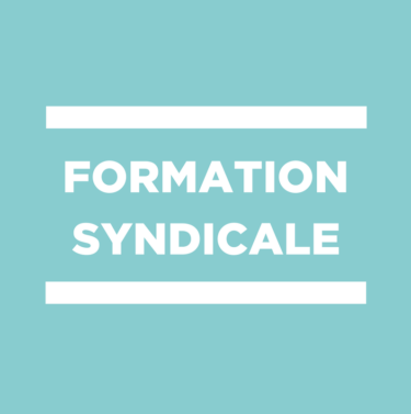 formation syndicale