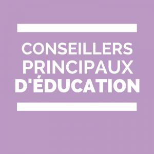CPE Conseiller principal d'éducation