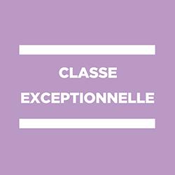 classe exceptionnelle