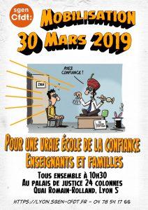 Manifestation 30 mars à Lyon