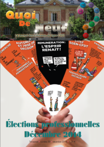 Elections professionnelles 2014 - Education nationale