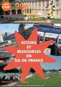 Accueil et ressources pour les personnels de l'éducation nationale arrivant en Ile de France