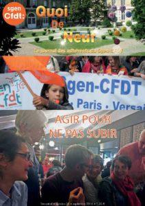Agir pour ne pas subir, l'engagement militant au Sgen-CFDT